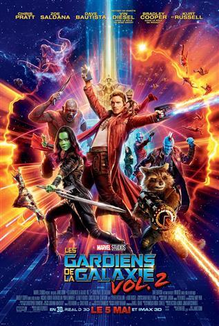Les gardiens de la galaxie vol. 2: - L'Expérience IMAX 3D