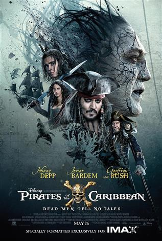 Pirates of the Caribbean: Dead Men Tell No Tales – The IMAX Experience®
