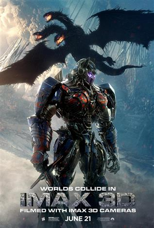Transformers: The Last Knight – An IMAX 3D Experience®