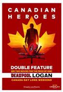 Deadpool + Logan: Canadian Heroes Double Feature