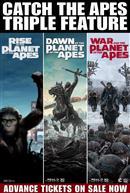 Apes Triple Feature