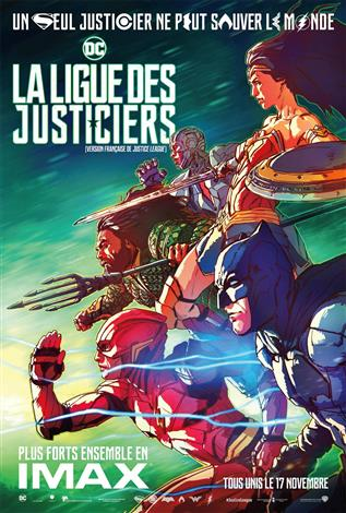 La ligue des justiciers - L'Expérience IMAX