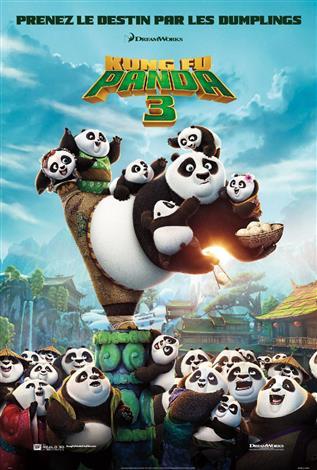 Kung Fu Panda 3 (Version Française) - Journée familiale