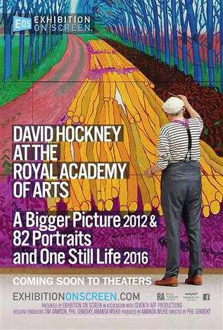 David Hockney à la Royal Academy of Arts (Anglais avec s.-t.fr.) - Exhibition on Screen