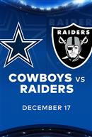 COWBOYS at RAIDERS - NFL Sunday Nights at Cineplex