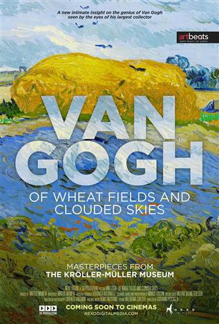 Van Gogh. Of Wheat Fields and Clouded Skies (Italian, French & English w/e.s.t.)