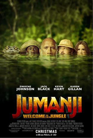 Jumanji: Welcome To The Jungle - Family Favourites (May 2018)