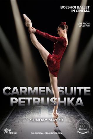 Bolshoi Ballet: CARMEN SUITE / PETRUSHKA