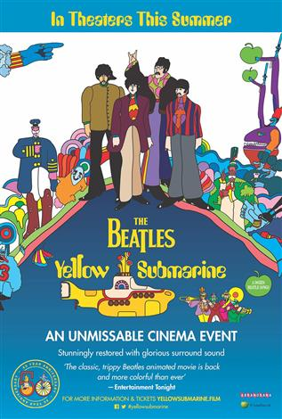 The Beatles' Yellow Submarine - 50th Anniversary