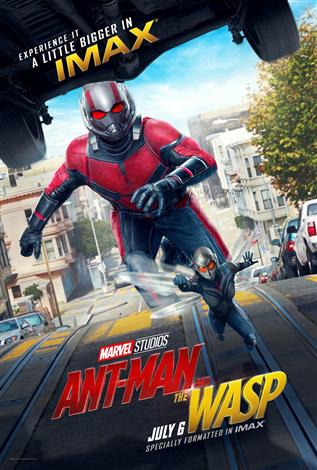 Ant-Man And The Wasp - An IMAX 3D Experience®