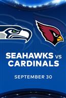 SEAHAWKS at CARDINALS - NFL Sunday Nights at Cineplex