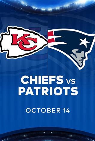 CHIEFS at PATRIOTS - NFL Sunday Nights at Cineplex