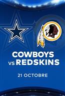 COWBOYS contre les REDSKINS - Les Dimanches soirs NFL chez Cineplex