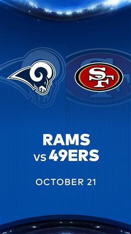 RAMS at 49ERS - NFL Sunday Nights at Cineplex