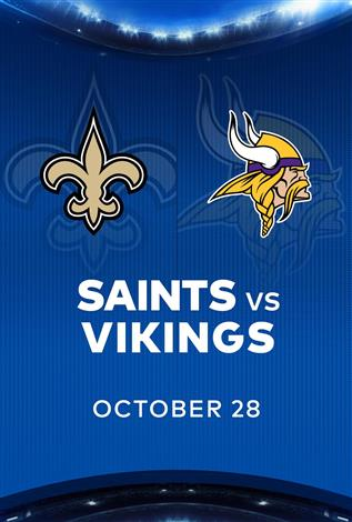 SAINTS at VIKINGS - NFL Sunday Nights at Cineplex