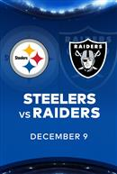STEELERS at RAIDERS - NFL Sunday Nights at Cineplex
