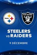 STEELERS contre les RAIDERS - Les Dimanches soirs NFL chez Cineplex