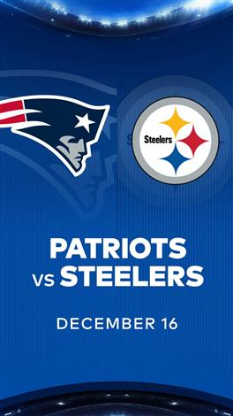 PATRIOTS at STEELERS - NFL Sunday Nights at Cineplex