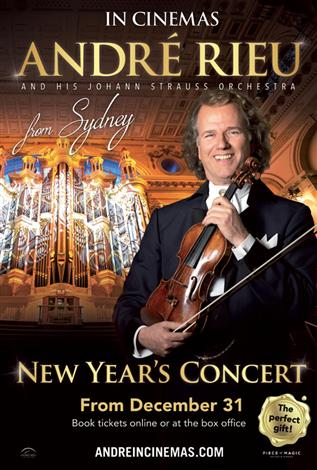 André Rieu 2019 New Year's Concert from Sydney