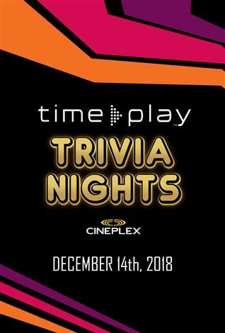 TimePlay Trivia Nights at Cineplex