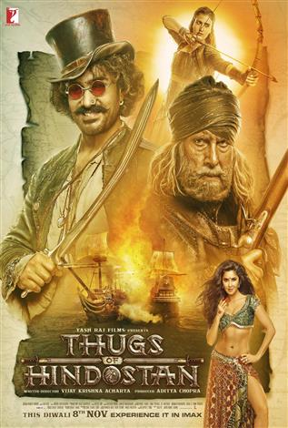 Thugs Of Hindostan – The IMAX Experience® (Hindi w/e.s.t.)