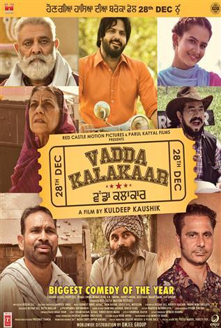 Vadda Kalakaar (2018) Punjabi Movie 480p HDRip 350MB