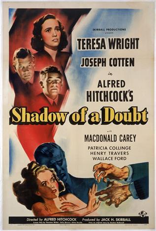 L'ombre d'un Doute - Classiques du cinéma