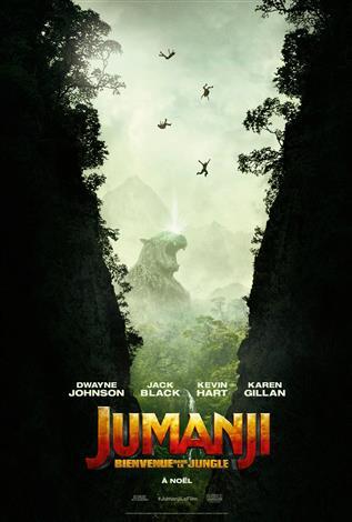 Jumanji : bienvenue dans la jungle - Les films en famille