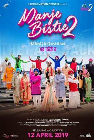 Manje Bistre 2 (Punjabi w/e.s.t.)