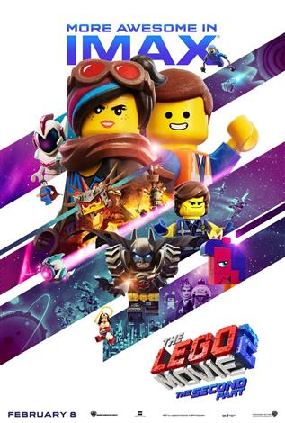 The Lego Movie 2 : The Second Part – The IMAX Experience®