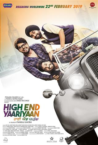 High End Yaariyaan (Punjabi w/e.s.t.)