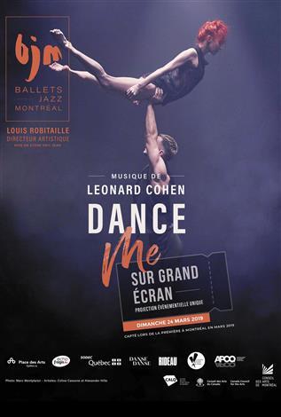 Dance Me - Musique de Leonard Cohen