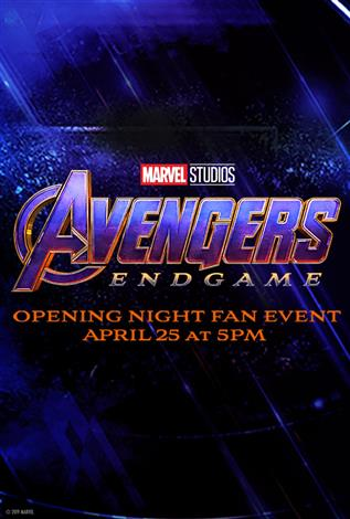 Avengers: Endgame Opening Night Fan Event