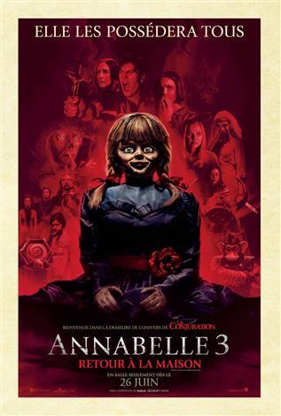 Annabelle 3 : retour à la maison
