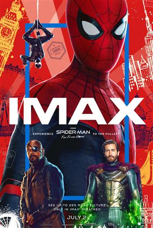 Spider-Man: Far From Home – The IMAX Experience®