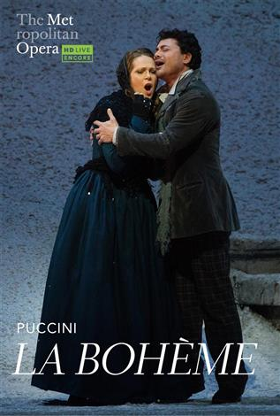 La Bohème (Puccini) - Italien avec s.-t. fr. - REDIFFUSION - Metropolitan Opera