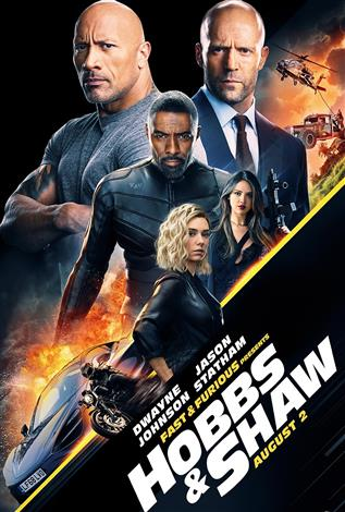 Fast & Furious Presents: Hobbs & Shaw - In 4DX