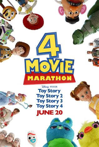 Toy Story 4 Movie Marathon