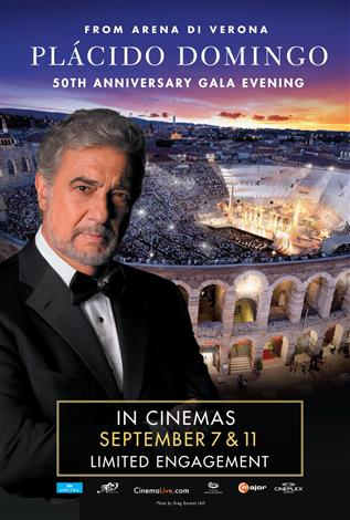 Placido Domingo 50th Anniversary Gala Evening (Italian with English subtitles)