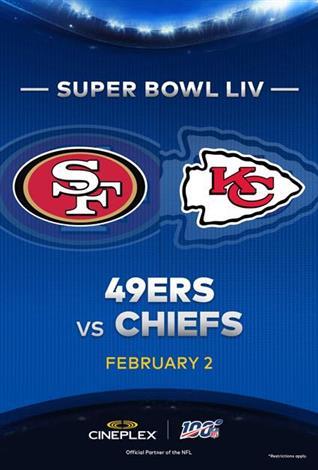 Super Bowl LIV – NFL at Cineplex