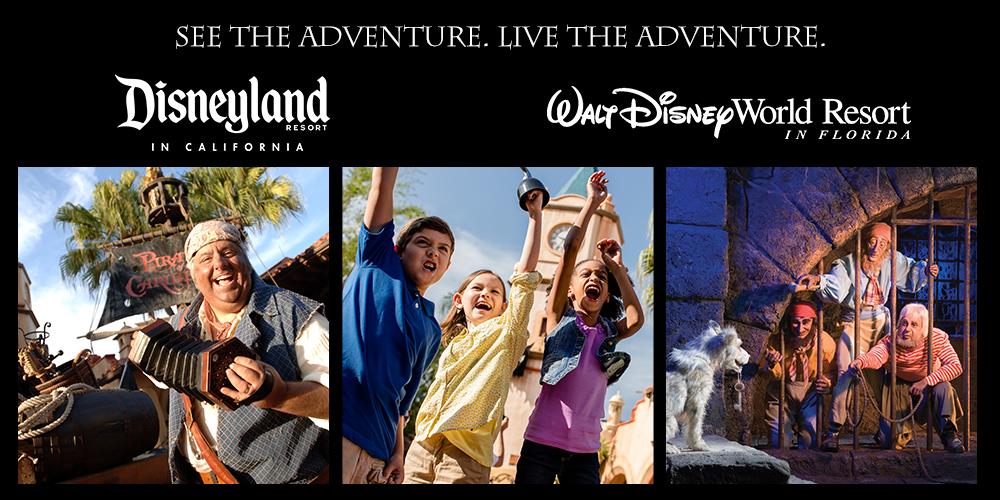 Disney Pirates of the Caribbean Ride Prize