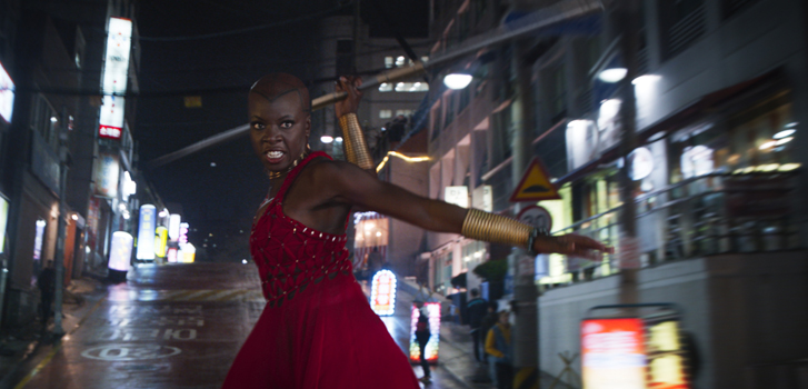 Black Panther's Danai Gurira on her role in King T'Challa's court