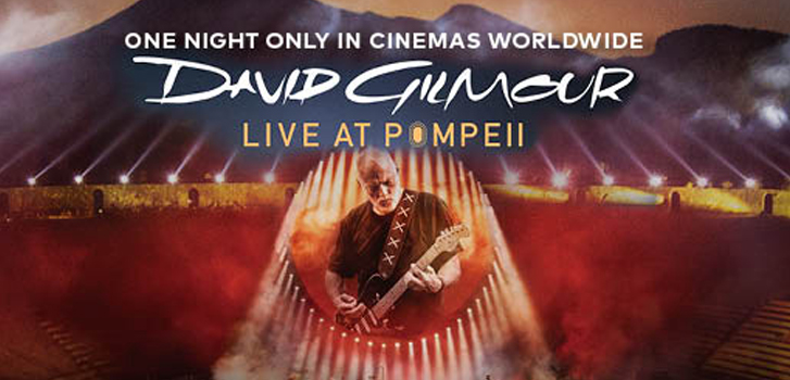 Music at the Movies – David Gilmour at Pompeii