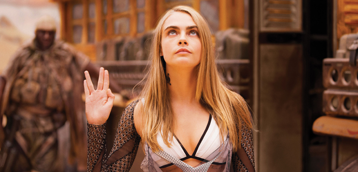 Valerian: The City of a Thousand Planets' Cara Delevingne on getting the part of a lifetime