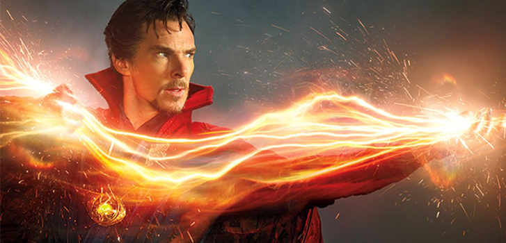 Doctor Strange shows off his incredible powers in new animated poster
