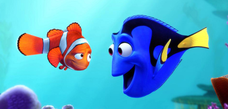 Finding Dory Cuteness Alert: A baby Dory clip!