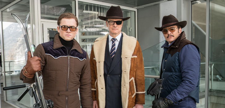 Channing Tatum, Jeff Bridges, Colin Firth, and Pedro Pascal on their parts in Kingsman: The Golden Circle