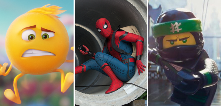 Spider-Man: Homecoming and The Lego Ninjago Movie in January's Family Favourites!