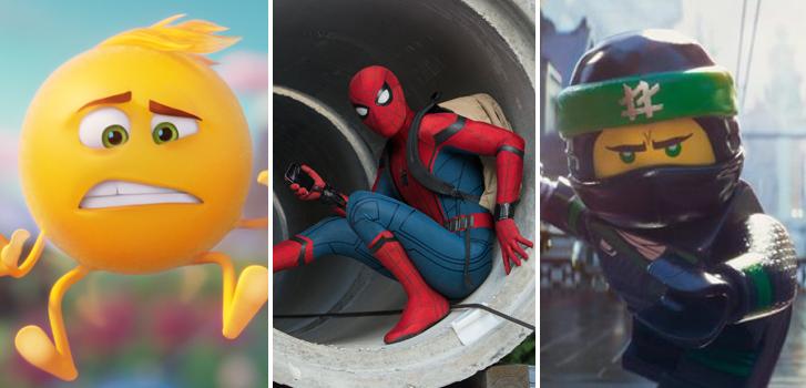 Films en famille: Spiderman, Legos, Émojis, tous les favoris des petits!