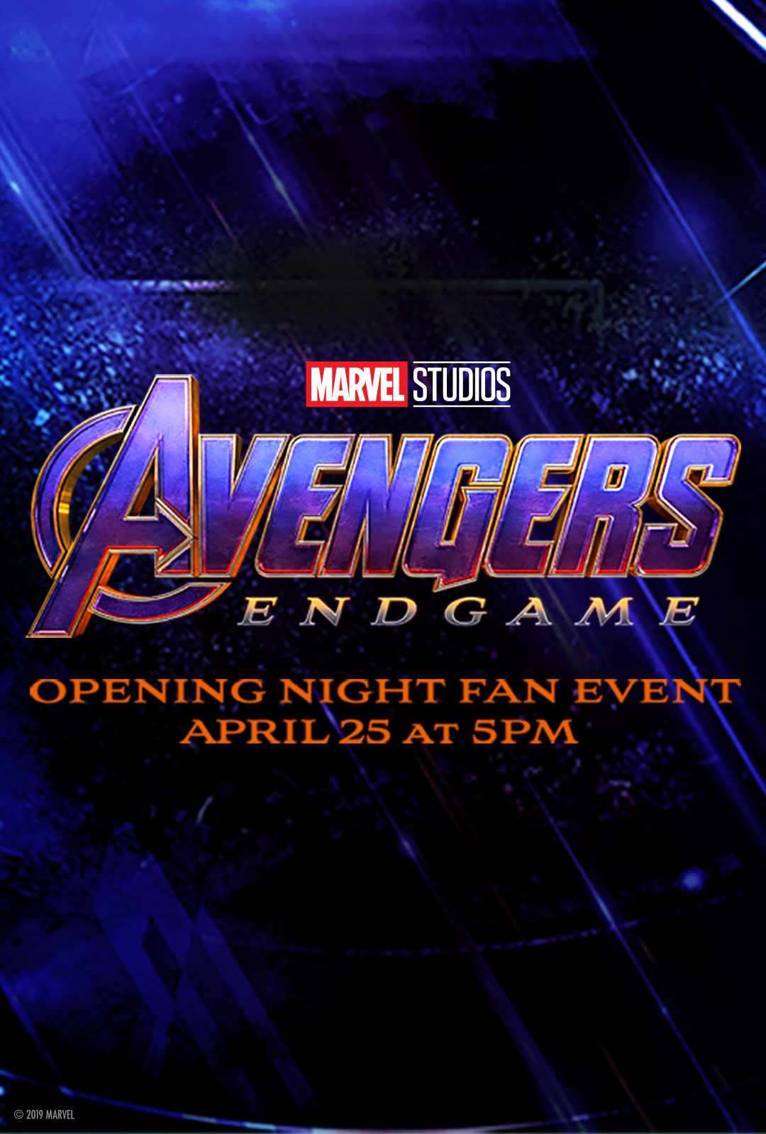 opening night fan event avengers endgame at an amc - HD 1080×1600
